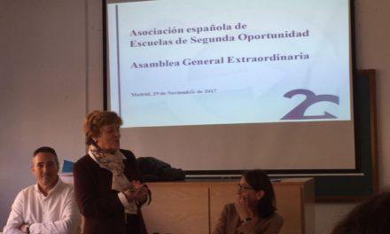 Gentis s'adhereix a l'Associació Espanyola d'Escoles de Segona Oportunitat