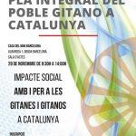 La jornada del Pla Integral del Poble Gitano a Catalunya veu la llum per primera vegada