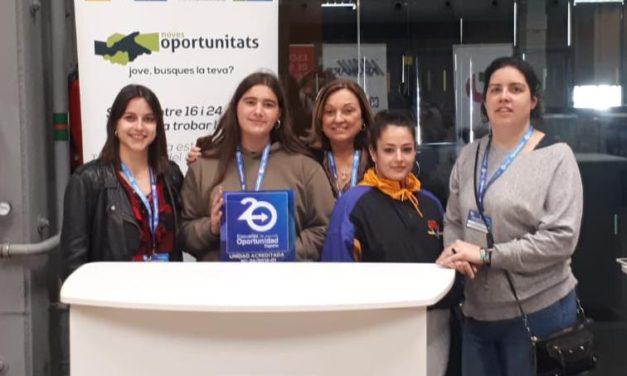 El programa de Noves Oportunitats rep l'acreditació d'Escola de Segona Oportunitat E2O