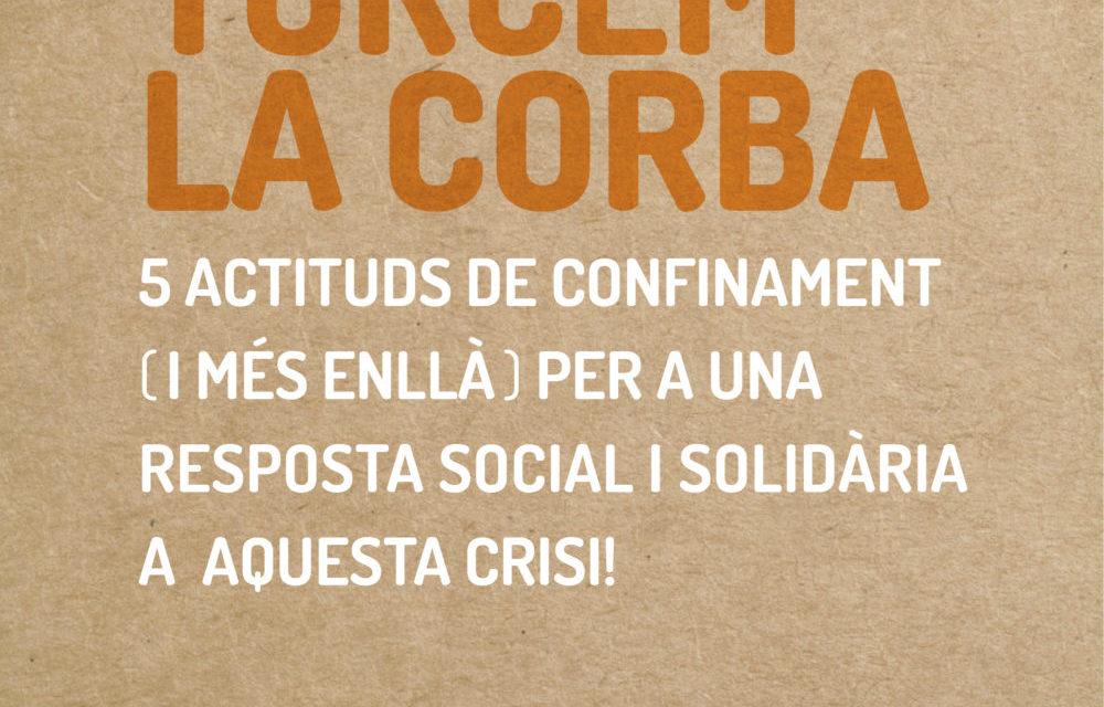 5 actituds de confinament per a una resposta social i solidària a aquesta crisi
