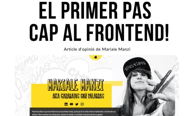 Article d'opinió per Mariale Manzi